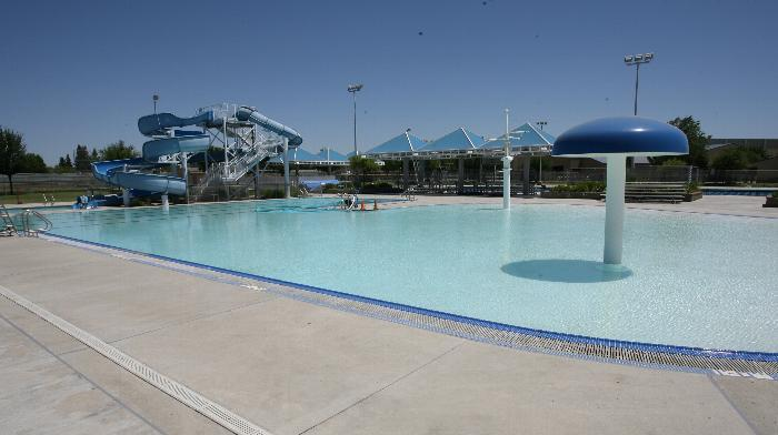 central east high school pool deck receives non slip finish bomanite