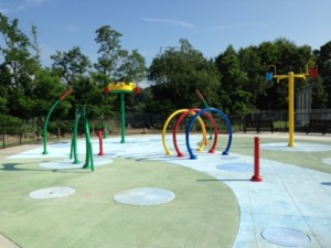 Capt. Petersen Splash Pad - Multiple Bomanite Color Hardeners