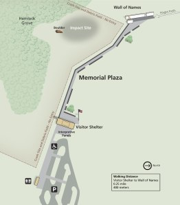 Flight 93 Memorial Map