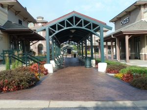 AFTER : Greenway Station Shopping Center - Bomanite Imprint Systems