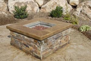 Bomanite Decorative Concrete - Fire Pit