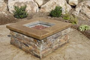Bomanite Decorative Concrete - Fire Pit