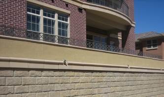 Bomanite Con-Color Decorative Concrete Vertical Wall (6)