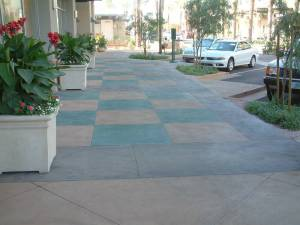 Bomanite Con-Color Decorative Concrete Walkway (1)
