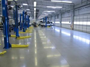 Bomanite Polished Concrete Floor