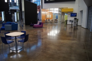 Chemical Stain Concrete Interior Floors