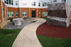 8N Lofts Bomanite Concrete