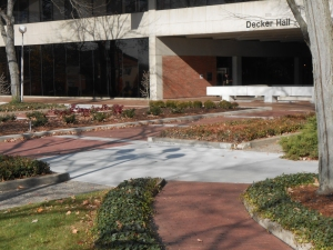 Bomanite Imprinted Concrete Plaza for Anderson University Centennial Celebration