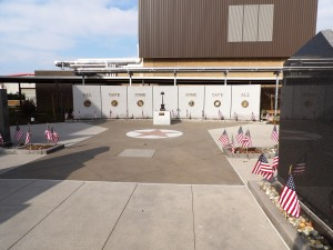 Veterans Walk of Honor Memorial Fresno Ca Heritage Bomanite Exposed Aggregate Sandscape Texture Walkways