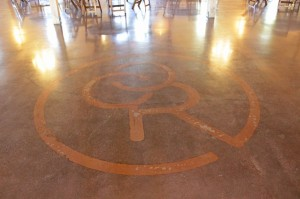 Chapel Creek Ranch Event Center Texas Bomanite Polished Concrete Floors VitraFlor with style elegance and durability