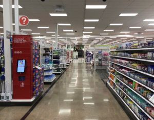 Bomanite licensee Concrete Arts installed the decorative concrete flooring at the newly redesigned and reconstructed Target East Lake in Minneapolis, MN, using Bomanite Custom Polishing Systems with Bomanite Patene Teres.